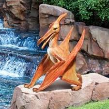 jurassic sized velociraptor yard statue yards backyard and gardens