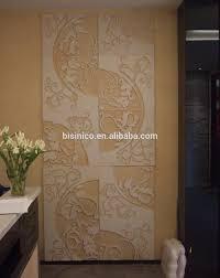 panneau relief mur grès panneau de revêtement de mur matériaux de construction en