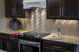 Metallic Tile Backsplash by Peel And Stick Tile Backsplash U2013 Review Of Pros And Cons