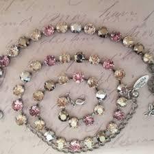 swarovski crystal flower necklace images Swarovski crystal flower necklace flower from sparklesandlove2 jpg