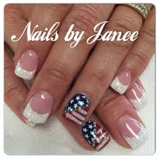 4th of july nails by janee awildhairsalonreno nails by janee at