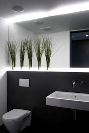 Design Powder Room Interior Design Cool Powder Room Ideas With Green Plant Decor