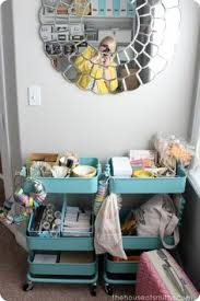 the råskog trolley is a great way to keep all your sewing items