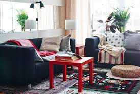 Ikea Side Tables Living Room A Living Room That Layers The Comfort On Choice Living Room