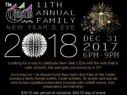 new year s noisemakers dec 31 11th annual family new year s party at the castle