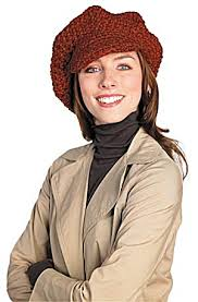 free pattern newsboy cap crochet newsboy cap pattern must log in to lion web site or