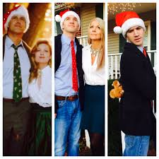 clark and ellen griswold costumes for christmas party even pinned