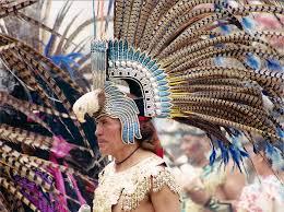imagenes penachos aztecas penacho azteca mexico d f hugo franco puga flickr