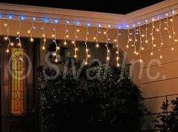 c9 christmas light strings icicle lights light string with 150 lights white cord clear and