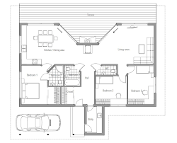 modern floor plans for homes floor plan exterior with simple home modern one story plan ranch
