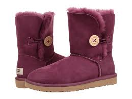 womens ugg boots with buttons lyst ugg bailey button in purple