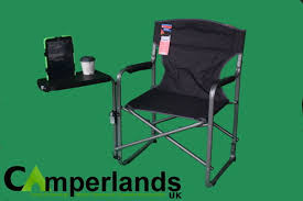 Folding Directors Chair With Side Table Crusader Antigua Directors Chair With Side Table