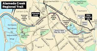 San Francisco Bike Map Bike Or Hike On Alameda Creek Regional Trail Sfgate