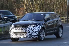 2016 Range Rover Evoque Mid Life Facelift Spied Ingenium Diesel
