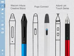 smarter sketching app for ipad concepts gets stylus support u2013 top