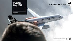 Seeking New Zealand Air New Zealand Limited Anzff Investor Presentation Slideshow