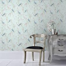 glitter wallpaper perth songbird duck egg wallpaper grahambrownrow