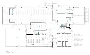 image of floor plan gallery of the k o lee aberdeen public library co op architecture