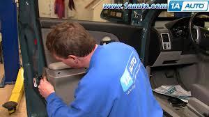 how to install replace inside door handle chevy equinox 05 09