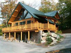 daylight basement home plans the rockbridge 1722 sq ft by southland log homes large gable