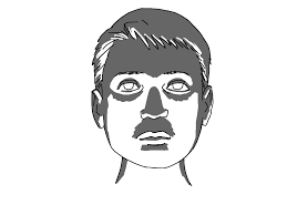 art tutorial light and shadow on a face comics for beginners