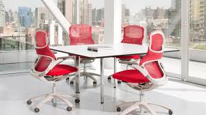 Red Office Furniture by Ergonomic Seating Corporate Concepts