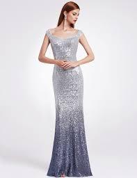 08999gy women elegantand graceful sequin long sparkle evening