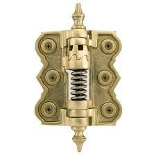 solid brass adjustable self closing screen door hinge hardware