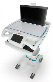 Rubbermaid Computer Desk Carelink Nurse Workstation Capsa Healthcare
