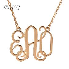 monogram jewelry cheap online get cheap monogram jewelry lot aliexpress alibaba
