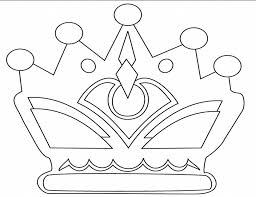 Crown Coloring Pages Many Interesting Cliparts Princess Crown Coloring Page Free Coloring Sheets