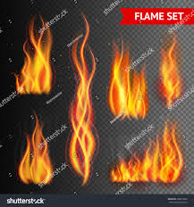 vintage halloween witch illistrations transparent background fire flame strokes realistic isolated on stock vector 358673066