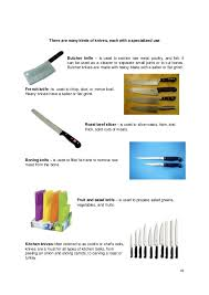 used kitchen knives types of kitchen knives and their uses ellajanegoeppinger