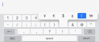 email keyboard layout iphone keyboard shortcuts and typing tips for ipad iphone ipod touch