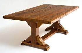 reclaimed wood dining table nyc reclaimed wood dining table nyc best choice of dining tables rustic