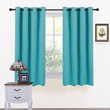 Teal Eyelet Blackout Curtains Homescapes Teal Petrol Eyelet Ring Top Blackout Thermal Curtain