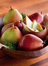 gourmet pears green and royal riviera pears are so beautiful and delicious