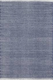 Dash And Albert Outdoor Rugs Herringbone Indigo Woven Cotton Rug Herringbone Indigo And Cotton