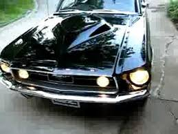 1967 Mustang Black 1967 Mustang Gt Fastback 427 Tunnel Port Youtube