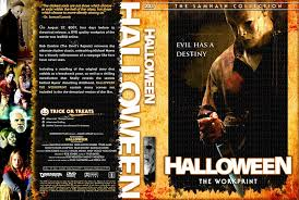 rob zombie halloween remake the horrors of halloween halloween 2007 vhs dvd and blu ray covers