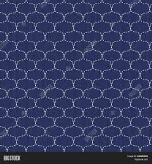 japanese ornament japanese sashiko motif waves seamless pattern abstract backdrop