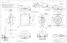design nerds will love this beautiful apple watch schematic