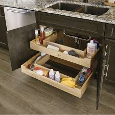 what sizes do sink base cabinets come in sink base roll out trays