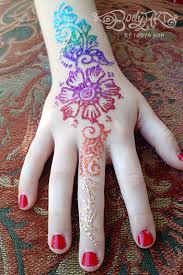 bay area face painters glitter tattoos mehndi henna style
