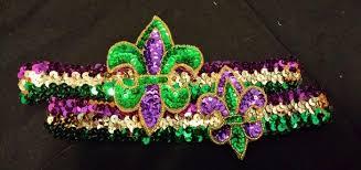 mardi gras headbands headbands jewelry by
