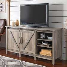barn door side table modern farmhouse tv stand up to 60 media center sliding barn door