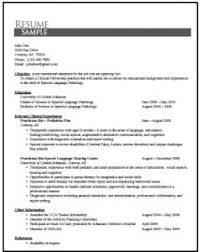 unusual slp resume examples 5 examples of resume templatesdirect