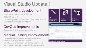 what u0027s new in visual studio 2012 and team foundation server ppt