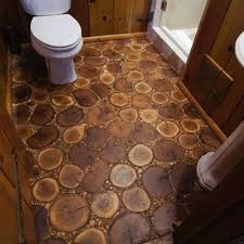 diy bathroom floor ideas how to make your own cordwood floor flooring ideas wood