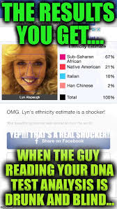 Dna Meme - i don t think i trust the results of this dna test imgflip